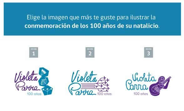 Invitan a elegir el Sello con el que se conmemorarán los 100 años del natalicio de Violeta Parra