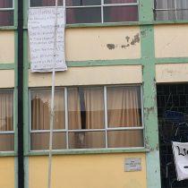 Estudiantes de Traiguén se tomaron el Liceo C-9 por demandas de infraestructura y una mejor educación