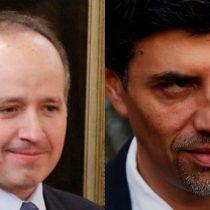 Jorge Insunza y el vocero Marcelo Díaz: los delfines políticos de Enrique Correa