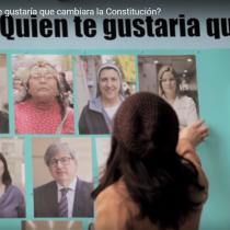 [VIDEO] ¿Quién te gustaría que cambiara la Constitución? La consulta ciudadana del Laboratorio Constitucional de la UDP