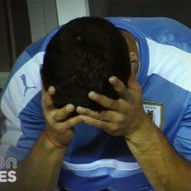 [VIDEO] La frustración de Luis Suárez desde la banca tras la eliminación de Uruguay de Copa América sin haber jugado