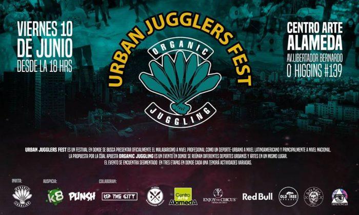 """""""Urban Jugglers Fest"""": Encuentro de malabarismo en Centro Arte Alameda, 10 de junio"""