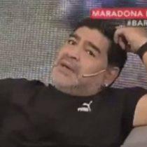 [VIDEO] Maradona le mete presión a la final: