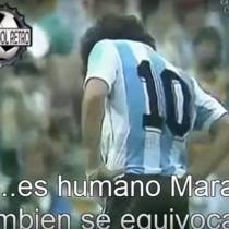 [VIDEO] ¿Maradona o Messi? Las palabras de un hincha contra el