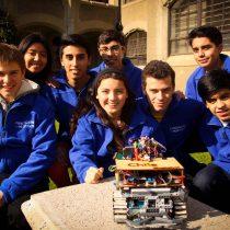 Selección escolar Mustabot afina los circuitos para el campeonato mundial de robótica RoboCup Jr.