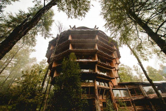 Huilo Huilo, una oportunidad para alojar en uno de los lugares