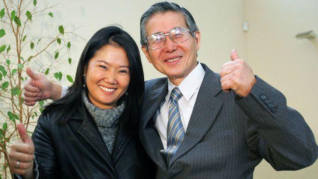 Keiko fue Primera Dama de Perú en 1994.