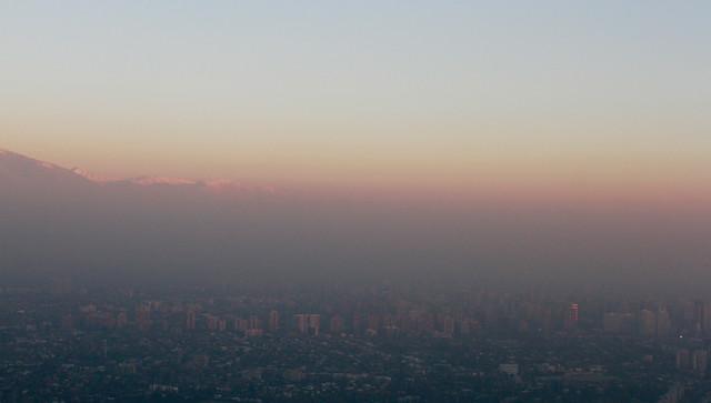 Decretan preemergencia ambiental para Región Metropolitana