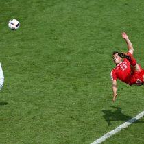 [VIDEO] El golazo de Xherdan Shaqiri que ya es elegido como el mejor gol de la Eurocopa de Francia