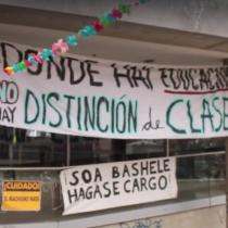 [VIDEO] ¿Qué es para ti la toma? La movilización de la UDP según sus estudiantes