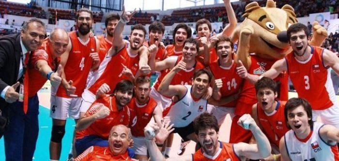 Voleibol: Chile debuta con un triunfo en su carrera por un cupo a los Juegos Olímpicos
