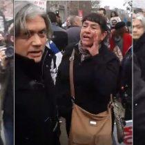 [Video de marcha contra AFP]