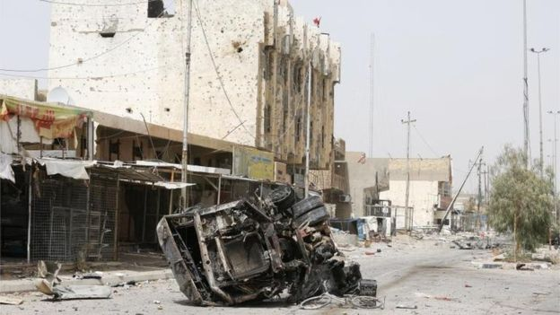 La ciudad de Faluya fue recuperada por el ejército iraquí.