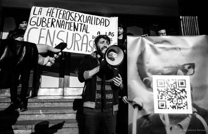 Felipe Rivas, afuera del Centex
