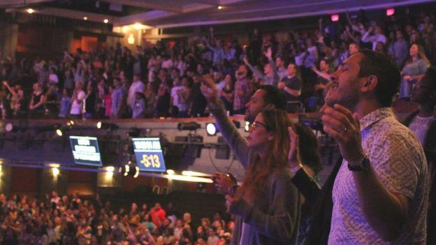 La iglesia reunió a 2.500 personas este mes durante la conferencia cristiana anual en el teatro Fillmore de Miami, un evento que ha realizado Wilkerson Jr. desde 2010.