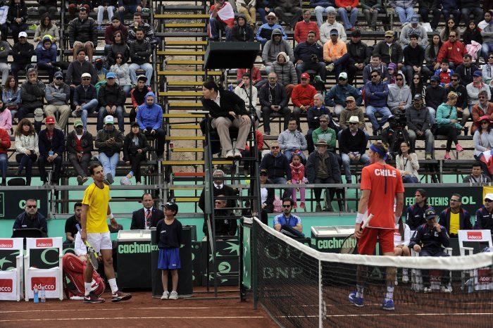 Copa Davis: un molesto Santiago Giraldo le otorga el primer punto a Colombia tras derrotar a Nicolás Jarry