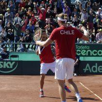 Listo el orden de los duelos para el primer día de la serie de Copa Davis entre Chile y República Dominicana