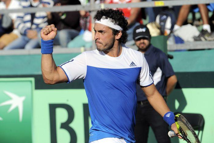 Chile gana la serie de Copa Davis tras retiro de Santiago Giraldo y va al repechaje
