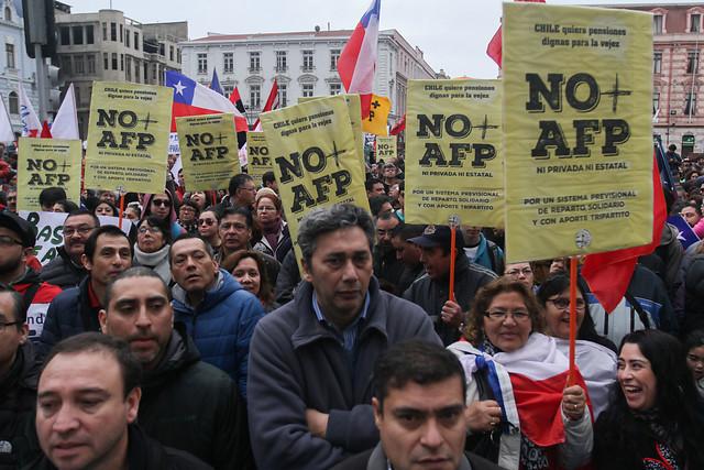 La marcha contra las AFP y el poder (dormido) de la gente