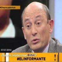 [VIDEO] La entrevista que obligó a Cheyre a renunciar a la presidencia del Servel