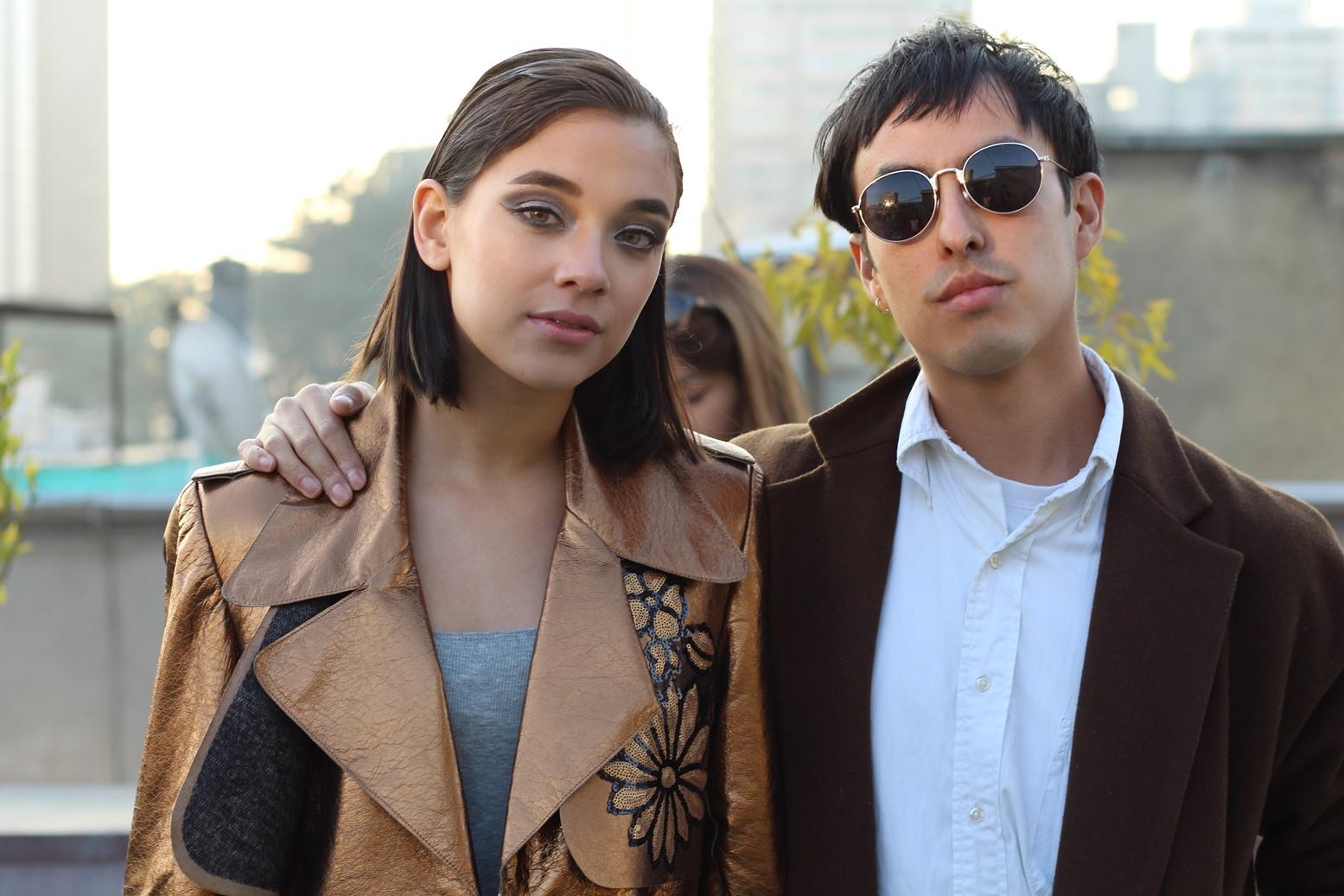Constanza Ramirez y el fotografo Rod Perez