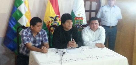 Evo Morales critica que Chile haya