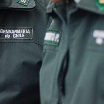 [VIDEO] Funcionarios de Gendarmería envían duro mensaje a ministro de Justicia: