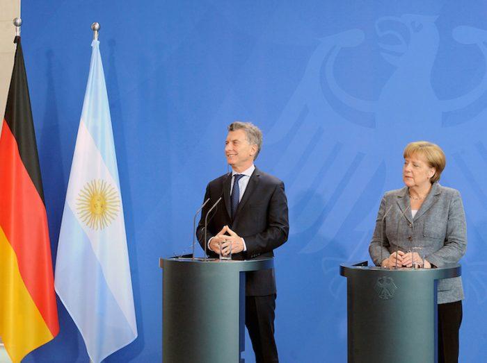 Alemania aumentará inversión en Argentina por reformas de Macri