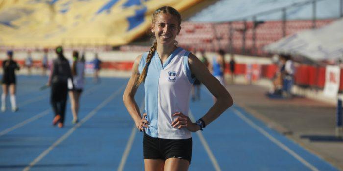 Norka Moretic queda quinta en el Mundial de Atletismo juvenil y logra nuevo récord de Chile