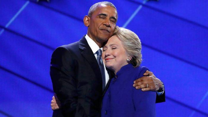 Obama arropa a Clinton: