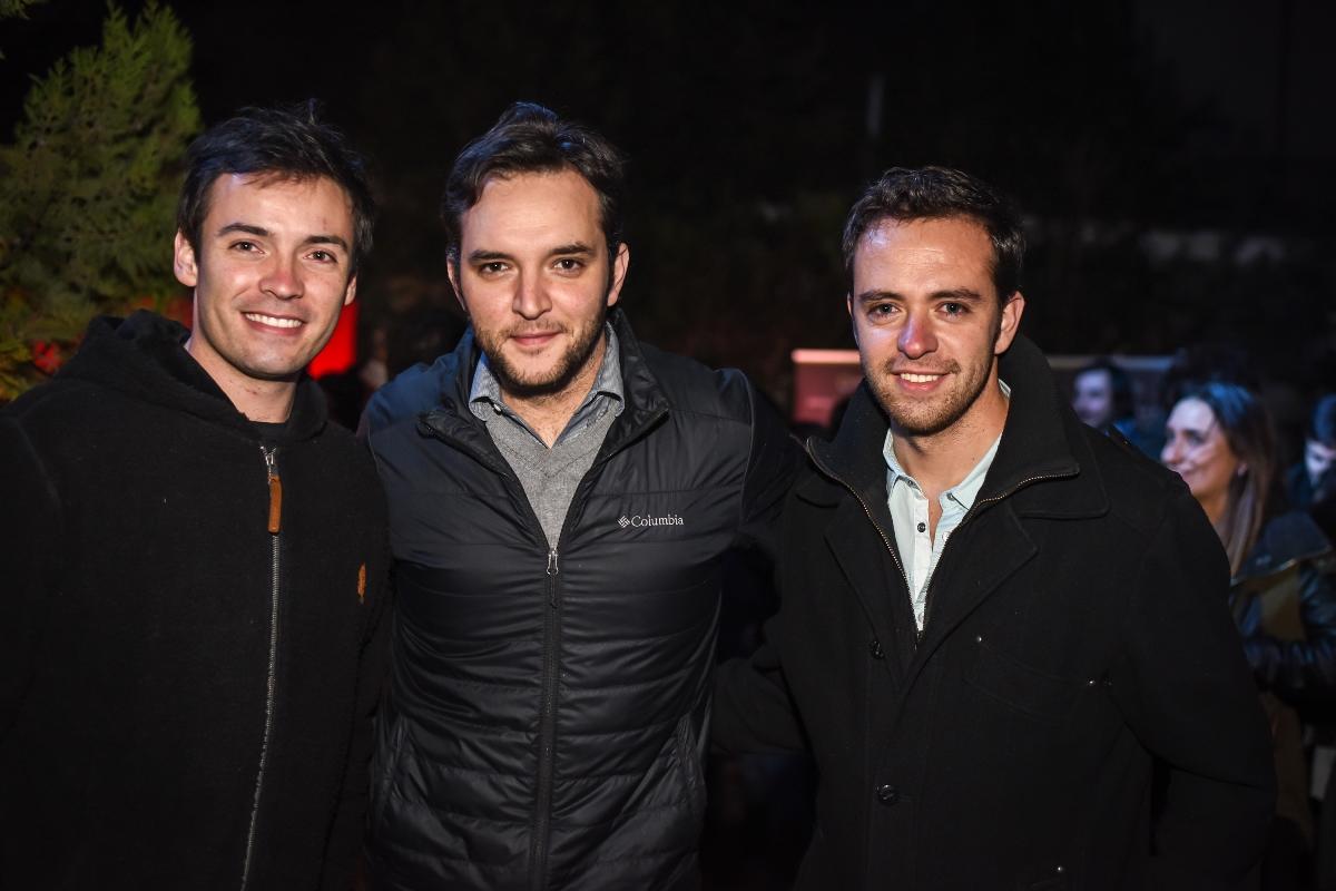 Pablo Lopez, Gonzalo y Juan Pablo Gazmuri