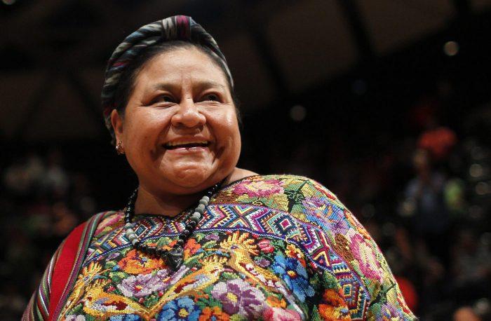 Premio Nobel de la Paz, Rigoberta Menchú, entregará premio de cine y educación en valores
