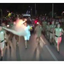 [VIDEO] Manifestante intenta apagar la antorcha olímpica en Brasil