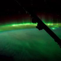 [VIDEO] Astronauta comparte imagen de una aurora boreal en time-lapse desde el espacio