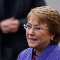 El mea culpa de Bachelet: