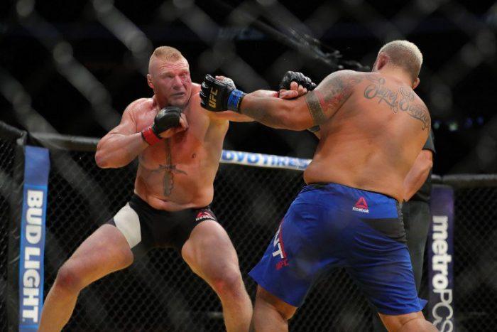 UFC 200: Brock Lesnar regresa de forma triunfal derrotando a Mark Hunt