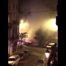 [VIDEO] Primeras imágenes de las explosiones que tienen en alerta a Bruselas