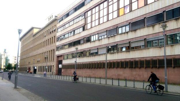 El Archivo Político de la Cancillería alemana, en Berlín.