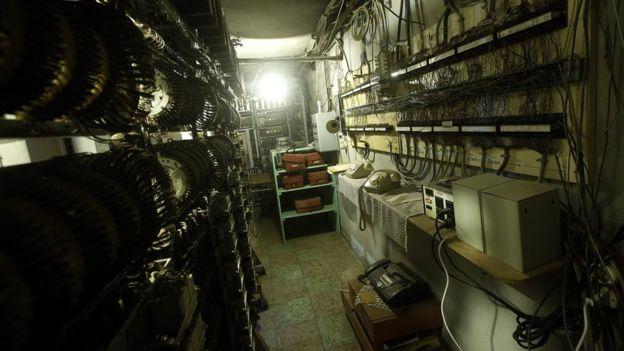 Así era la central telefónica de Colonia Dignidad: al parecer eran expertos en comunicaciones.