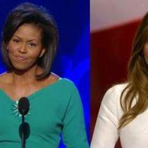 Discurso de esposa de Trump es sospechosamente parecido a uno de Michelle Obama