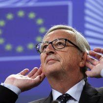 """[VIDEO] Presidente de Comisión Europea asegura que """"líderes de otros planetas"""" están inquietos por el Brexit"""