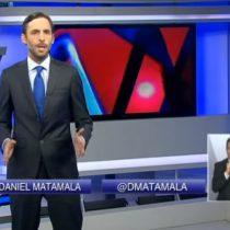 [Video] Matamala barre con El Mercurio por caricatura de Beausejour con bolsillos llenos de plata