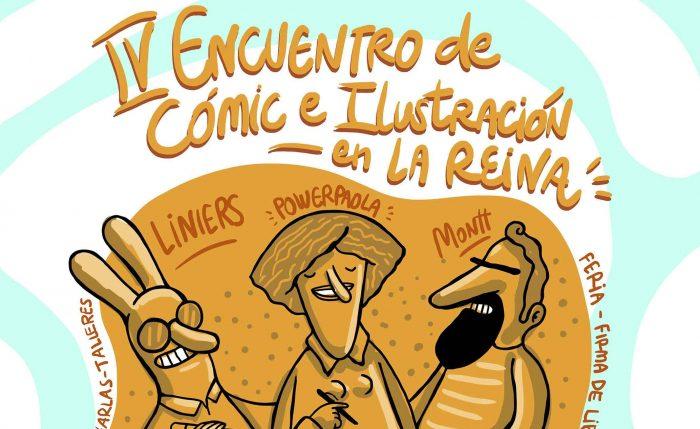 IV Encuentro de Cómic e Ilustración en La Reina, Centro Cultural Casona Nemesio Antúnez, 22 y 23 de julio. Entrada liberada