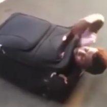 [VIDEO] Crisis humanitaria: el inmigrante de Eritrea que quería llegar a Reino Unido en una maleta