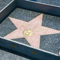Colocan pequeño muro alrededor de estrella de Donald Trump en Hollywood