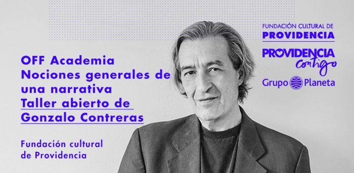 Taller gratuito de literatura con Gonzalo Contreras en Fundación Cultural de Providencia, 7 de julio