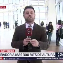 [VIDEO] Periodista de TVN se burla en pleno despacho en directo:
