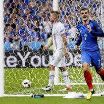 Eurocopa: Francia despierta a Islandia de su sueño