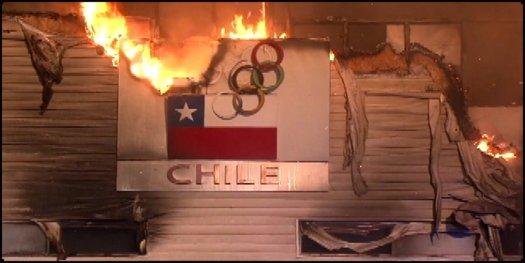 Incendio destruye centro de entrenamiento del equipo chileno de Remo