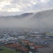 [VIDEO] Inusual fenómeno climático obliga a cerrar aeropuerto de Iquique
